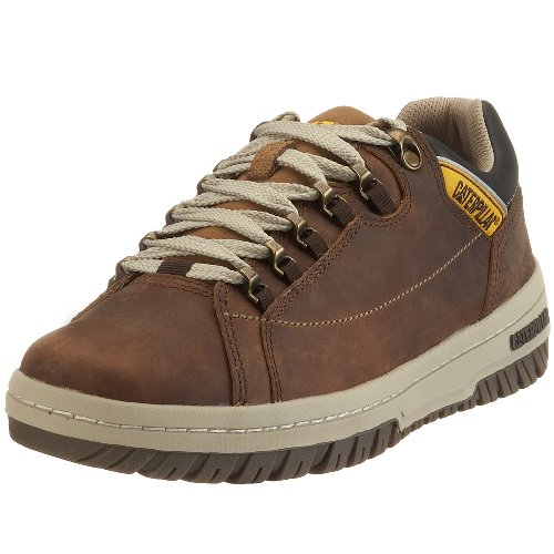 Cat Footwear Men's Apa Dark Beige Lace Up P711584 12 UK, 46 EU