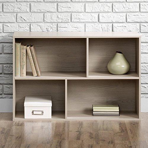 Sauder Square 1 Organizer - 4 Shelves High 4 Shelf Bookcase