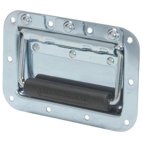 Penn-Elcom H7154Z Spring Flex Cabinet Handle Zinc