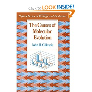 The Causes of Molecular Evolution (Oxford Series in Ecology and Evolution) John H. Gillespie