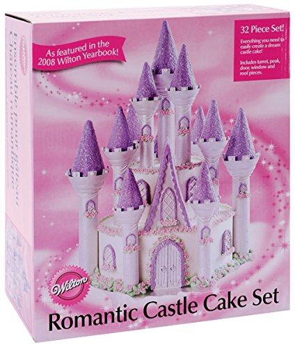 Wilton 301-910 Romantic Castle Cake Set