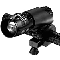 Brightest & Safest Front Mount Headlight/Flashlight 2-in-1! FREE Taillight! Fits ANY Street/Mountain/Kids Bike, Easy Install & Remove NO Tools! 100% Waterproof, Safety Or Emergency Extremely Bright ! With AAA Batteries!