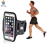 #3: Mc Loj Hand Arm Band Case for Gym Jogging Armband For Samsung Note 2 and 3, Iphone 6 and 6S, HTC,Sony, Intex, LG, Microsoft And All Compatible with Smartphones 5.7 Inch (Armband for phone)
