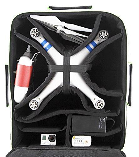Drohne-Max-Ultimate-Rucksack-DJI-Phantom-Drohne-Rucksack-quadcopter-Tasche-schwarz-grn
