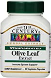 21st Century Olive Leaf Extract Veg-Capsules, 60-Count