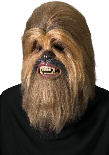 Imagen principal de Luxury Star Wars Chewbacca mask, adult size (máscara/ careta)
