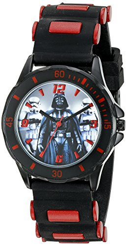Star Wars Kids' STW3434 Analog Display Quartz Black Watch