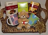 Deluxe green tea with lemon & chocolate hamper