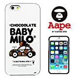 A BATHING APE 【 i FACE + A BATHING APE BABY MILO 】 iPhone6(4.7inch)対応ケース ベイシングエイプ ベイビーマイロ APE011