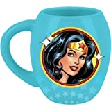 Wonder Woman DC Comics Linda Carter Superhero Logo Mug