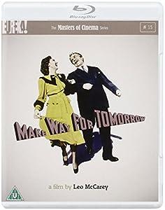 MAKE WAY FOR TOMORROW (Masters of Cinema) Dual Format (Blu-ray + DVD) [1937]