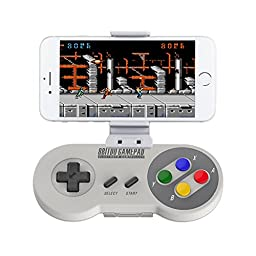 Willgoo® 8bitdo SFC30 Wireless Bluetooth Controller Dual Classic Joystick for IOS / Android Gamepad - PC Mac Linux With Xstander