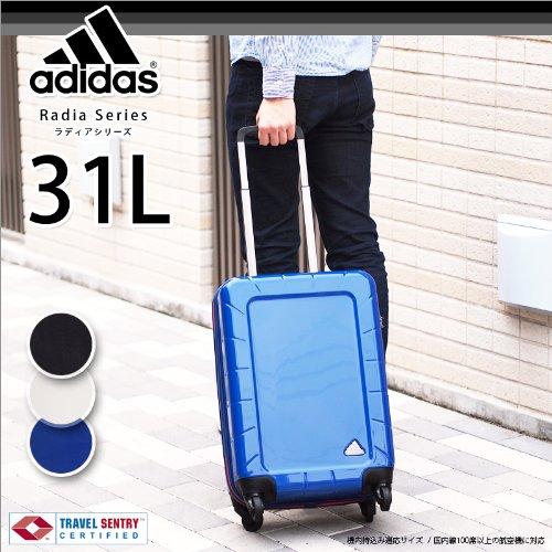 (アディダス) adidas スーツケース 31L ラディアシリーズ 05486