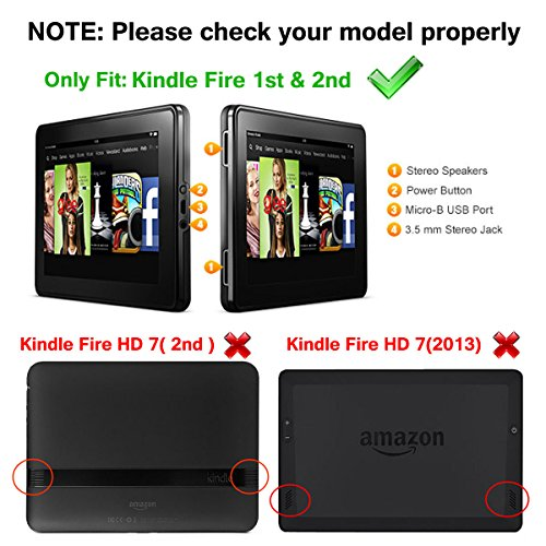 Kindle Fire 1st & 2nd Generation Cover Case