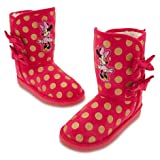 Disney Store Deluxe Minnie Mouse Winter Boots (7 M US toddler)