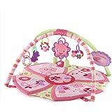 Bright Starts Giggle Garden Activity Gym, Pretty in Pink