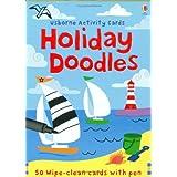 Holiday Doodles (Usborne Activity Cards)by Fiona Watt
