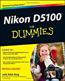 Julie Adair King Nikon D5100 For Dummies