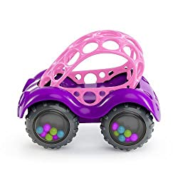 Oball Rattle & Roll - Pink