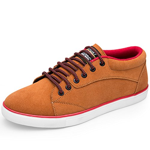 Scarpe da uomo/scarpe di camoscio casuali/scarpe in pelle di guida della gioventù-A Lunghezza piede=24.8CM(9.8Inch)