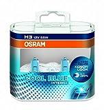 Osram Cool Blue Intense 64151CBI H3 12V 55W Twin Pack of Headlight Bulbs