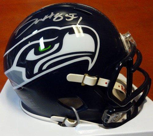 d05c51ee6c8 Certified Bobby Wagner Signed Seattle Seahawks Speed Replica Mini Helmet –  Autographed NFL Football Helmets