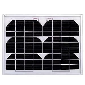 Ramsond 5 Watt Monocrystalline Photovoltaic Pv Solar Panel Module - 12v 5w W Battery Charging - 25 Year Power Warranty