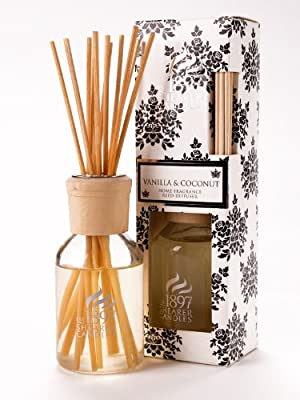 Vanilla Coconut Home Fragrance Reed Diffuser - Shearer Candles by Shearer Candles