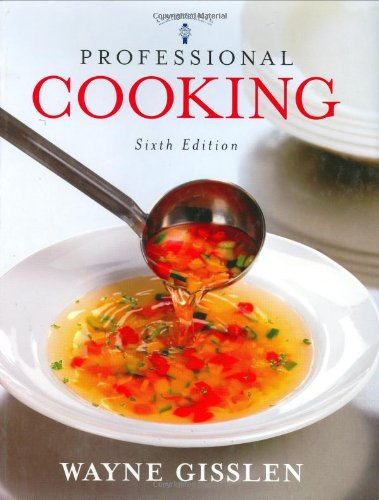 Book cover Professional Cooking, 6th Edition