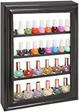 Black Metal Salon Nail Polish Bottle Organizer  Storage Rack  Collectible Display Shelve - MyGiftreg