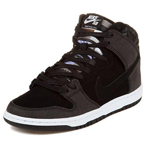 "Nike Mens Dunk High Premium Sb ""Civilist"" Black/White Synthetic Skateboarding Size 11.5"