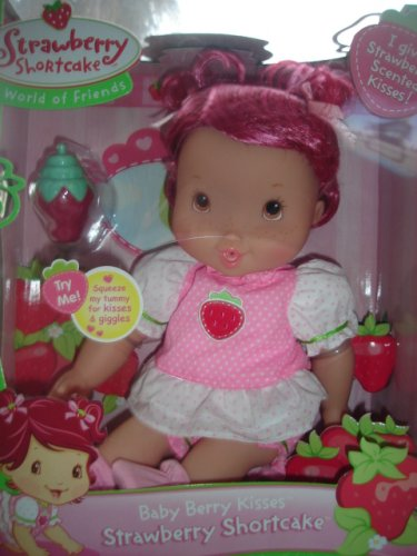 Strawberry Shortcake Baby Berry Blow Kisses Doll - Buy Strawberry Shortcake Baby Berry Blow Kisses Doll - Purchase Strawberry Shortcake Baby Berry Blow Kisses Doll (Playmates 2007, Toys & Games,Categories,Dolls,Baby Dolls)