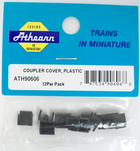 Athearn 90606 HO Coupler Cover, Plastic (12)