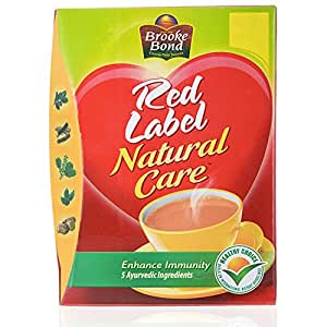 Red Label Natural Care Tea Price In India