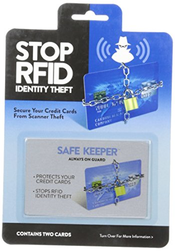 Safe Keeper RFID Blocking Cards Protecting and Safe Guarding Your Identity From Thieves (Clone System Inserts compare prices)
