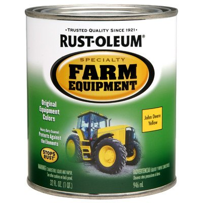 1 Quart Stops Rust Paint [Set Of 2] Color: Yellow