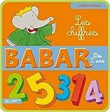 echange, troc Jean-Claude Gibert - Babar : Les chiffres : Livre-puzzle