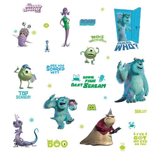 Disney Pixar Monsters University 3 Piece Room In A Box: Squidoo Page Not Found