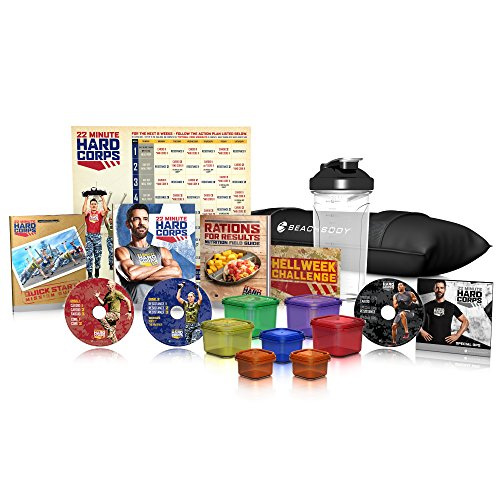 Tony Horton's 22 Minute Hard Corps Workout Program - Deluxe Kit