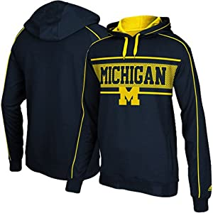 Michigan Wolverines Adidas Embroidered Logo Sweatshirt by adidas