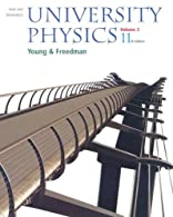 Sears and Zemansky's University Physics by Young