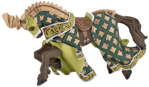 Papo Weapon Master Dragon Horse Toy - 1
