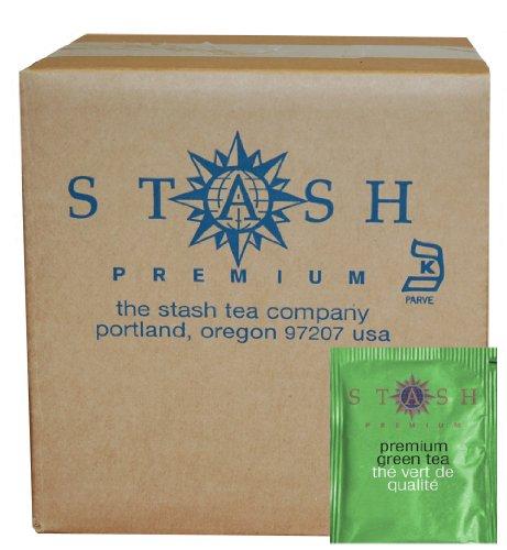 Stash Tea Premium Green Tea, 100 Count Box of Tea Bags in Foil (Tea Packaging Bags compare prices)