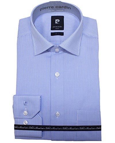 Pierre Cardin -  Camicia classiche  - Camicia  - Classico  - Maniche lunghe  - Uomo blu 46