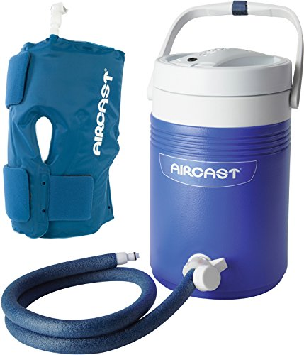 Aircast cryo cuff knee cryo cuff with gravity cooler for Cryo cuff ic motorized cooler