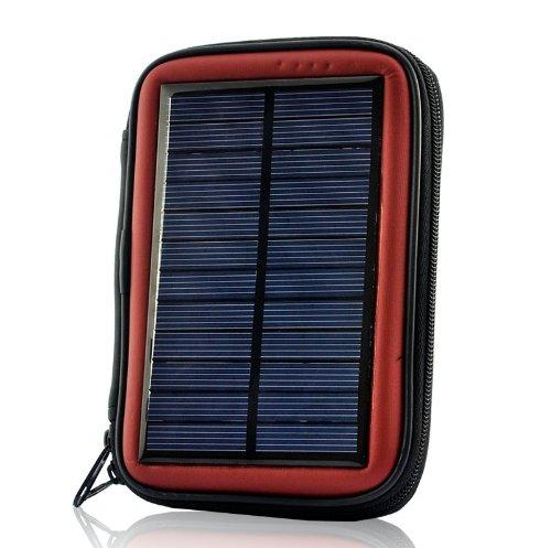 Solar Battery Charger Case - Weatherproof, 2200Mah Battery