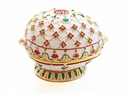 Fabergé uovo stile regency di 1894 Scatola di gioielli