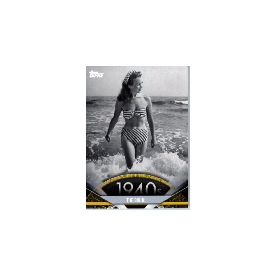 2011 Topps American Pie Card #4 The Bikini   ENCASED Trading Card