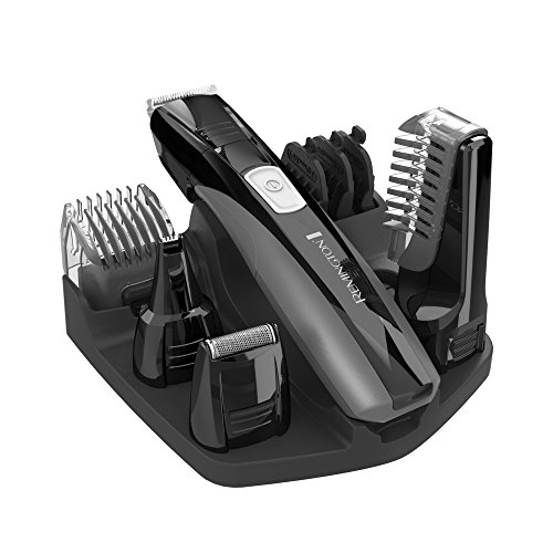 Remington PG525 Head to Toe Lithium Powered Body Groomer Kit, Trimmer (10 Pieces) (Head Trimmers For Men compare prices)