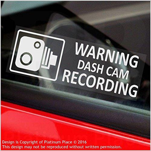 5-x-warning-dash-cam-recording-30-x-87-mm-finestra-per-stickers-vehicle-telecamera-di-sicurezza-dash